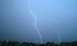 26 juin 2009 Ligne d'orages forts
